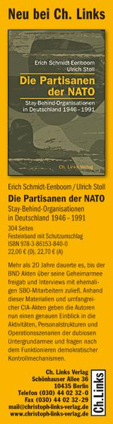 Neu bei Ch. Links: Die Partisanen der NATO